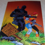 1994 GI Joe 30th Salute #34 cover gi joe #63 Trading card